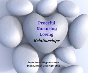 Find Peaceful, Nurturing, Loving Relationships with this hypnosis meditation CD from SuperHuman Hypnosis